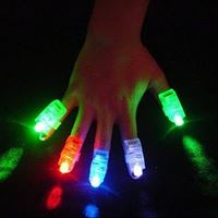 Anél de Led Laser Finger