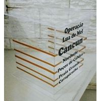 Caixa acrilico Cancun Hora da Gravata