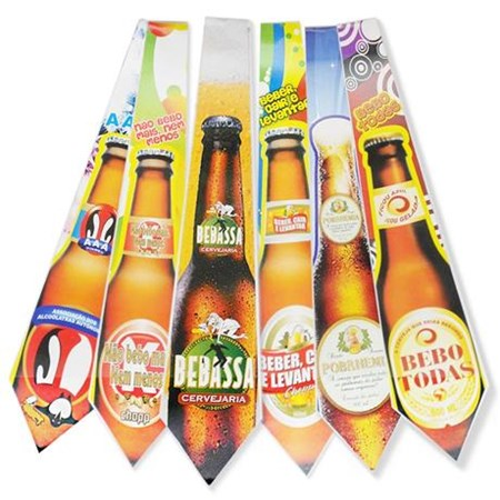 Gravata Cartonada Cerveja c/10 unidades