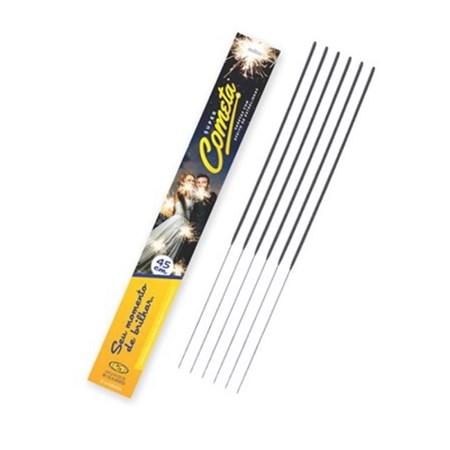 Velas Sparklers 45cm Caixa com 5 Unidades