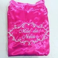 Robe Mãe da Noiva Cetim Pink