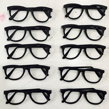 Oculos Nerd Preto c/ 10 unidades