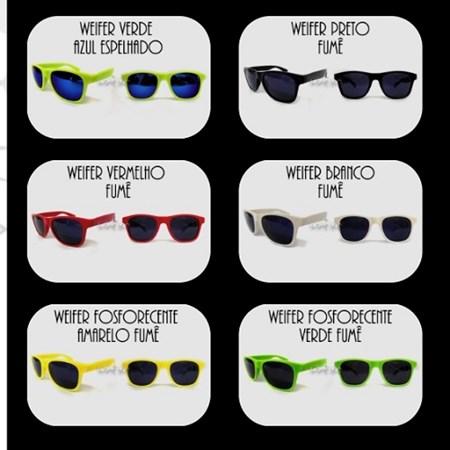Oculos Fantasia Escuro Rayban 6 Unidades