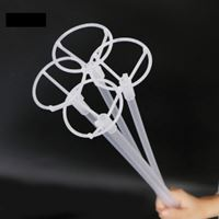 Suporte Balão Vareta Transparente 50 cm