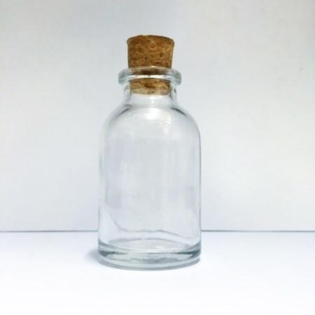 Potinho de de Vidro p/ Essência altura 5,5cm 20ml