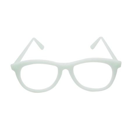 Óculos Nerd Neon Brilha no Escuro s/ Lente 10 unidades