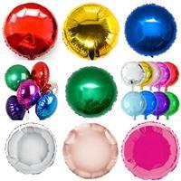 10 Unidades Baloes Metalizados Redondo 45 cm Cores a escolher
