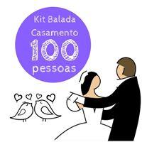 Kit Festa Balada Casamento 100 Pessoas