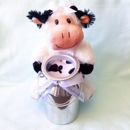 Vaquinha dos Noivos c/ leiteira para por o Dinheiro