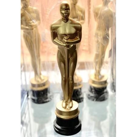 Estatueta Oscar de Plástico