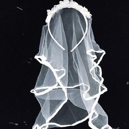 Véuzinho de Noiva Branco