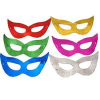 Máscara Gatinha Metalizada c/ 12 unidades