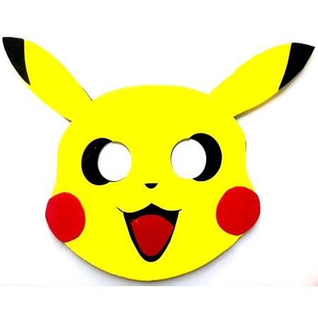 Mascara Pokemon c/4 Unidades