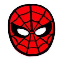 Mascara Homem Aranha c/ 4 Unidades