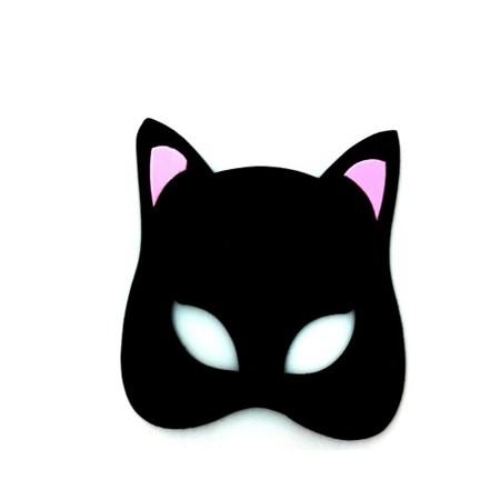 Mascara Mulher Gato c/ 4 unidades