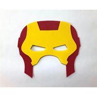 Mascara Homem de Ferro c/ 4 Unidades