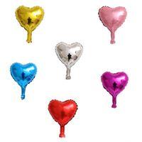 20 Unidades Mini Balão Coração 5 Polegadas 13 cm