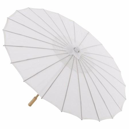 Sombrinha Japonesa Branca